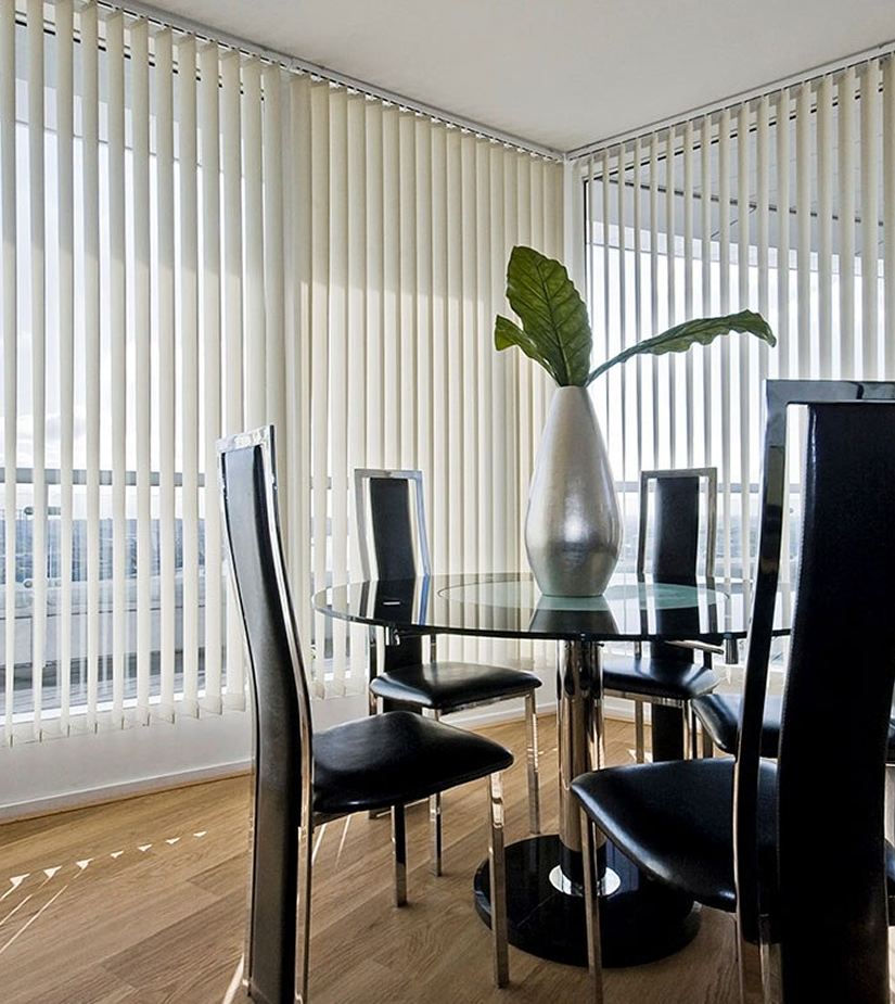 Persianas León - Venta e instalación de cortinas verticales